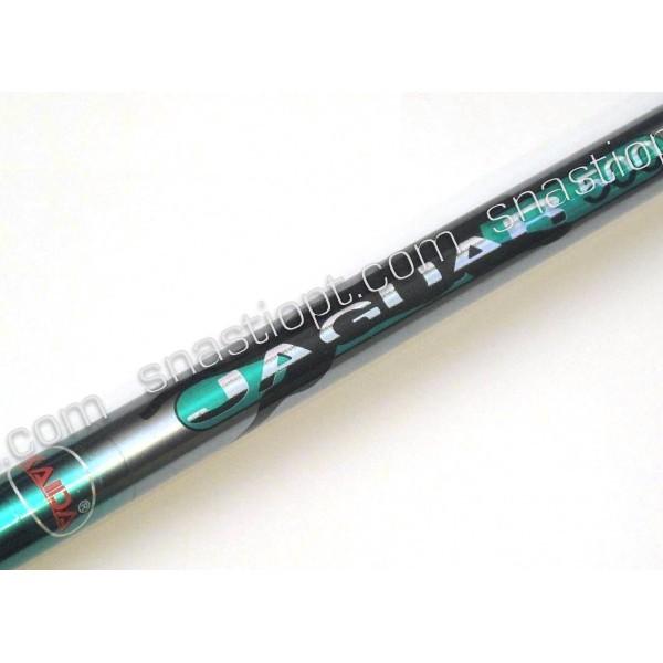 Телескопічна вудка для риболовлі Кайда (Kaida) Jaguar без кілець, тест 40-80г