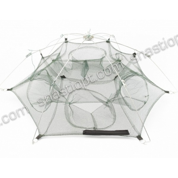 Раколовки-парасольки, 9 входів