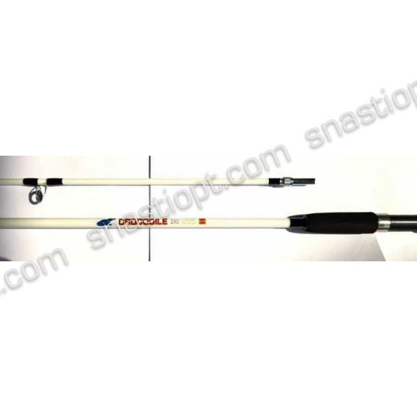 Спінінг для риболовлі CROCODILE, довжина 2,4 м, тест 100-250г