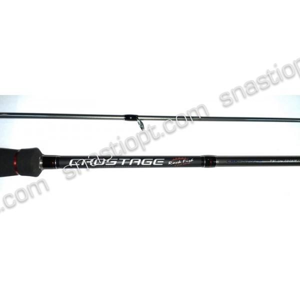 Спінінг для риболовлі Major Craft Crostage, довжина 2,36 м, тест 0.5-5 гр.