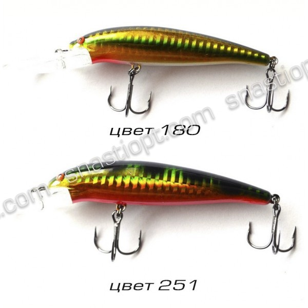 Воблер для спиннинговой рыбалки Condor, 85мм, 15г, 1.5-3.8м