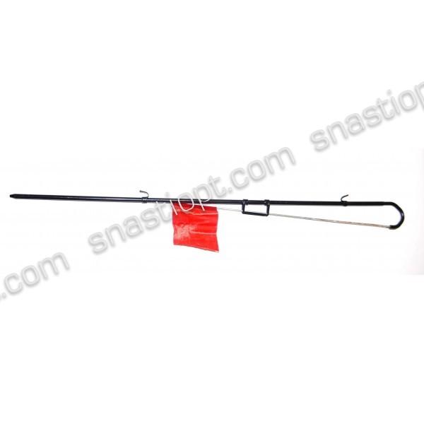 Жерлица для рыбалки BratFishing, на одной ножке, металлическая
