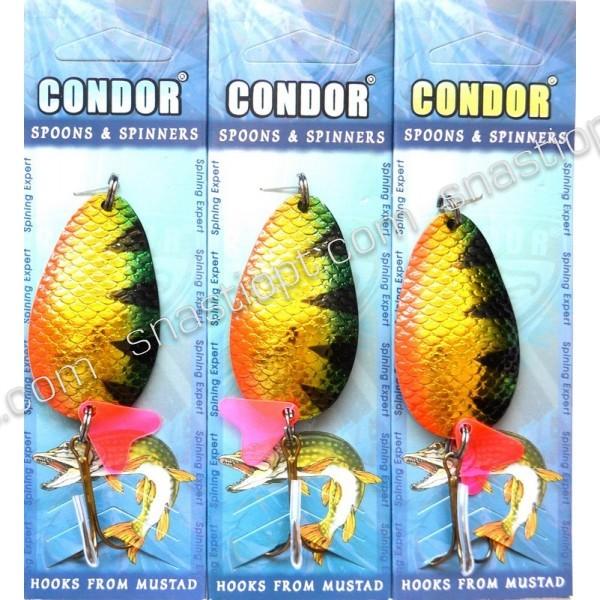 Блесна колеблющаяся Condor, цвет 32, 24гр
