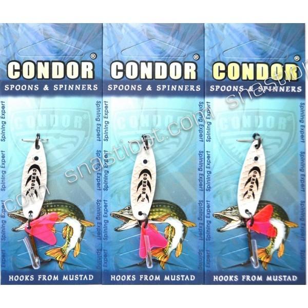 Блесна колеблющаяся Condor, цвет 93, 5гр