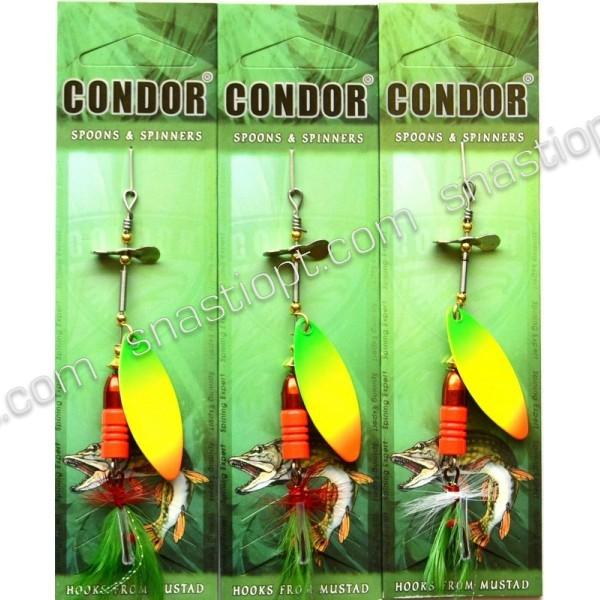 Блесна вращающаяся Condor, цвет 187, 12гр