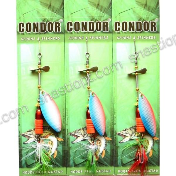 Блесна вращающаяся Кондор, цвет 12, 12гр