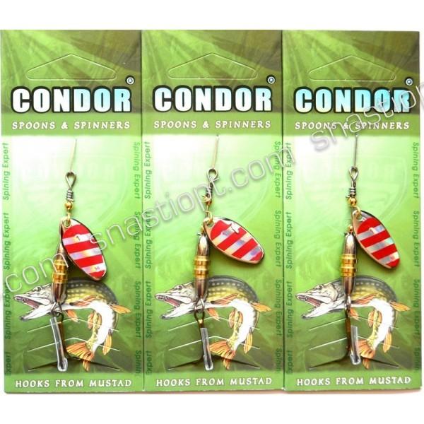 Блесна-вертушка Condor, цвет 118, 5гр