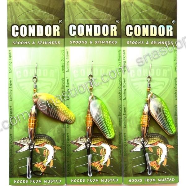 Вращающаяся блесна Condor, цвет 145, 12гр