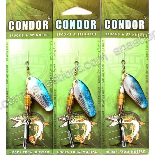 Обертається блешня Кондор, колір 147, 12гр