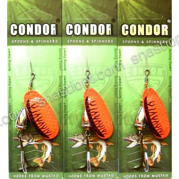 Вращающаяся блесна Condor, цвет CB11, 12гр