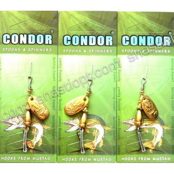 Блешня обертається Кондор, колір 116, 4г
