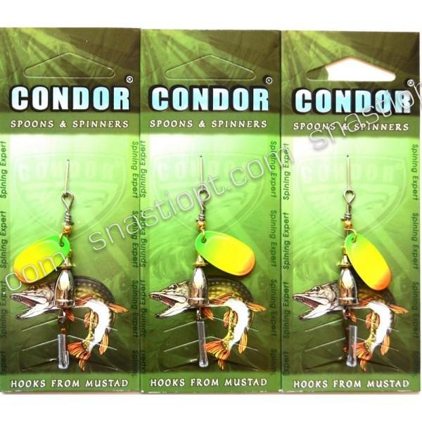 Блесна-вертушка Condor, цвет 187, 4гр