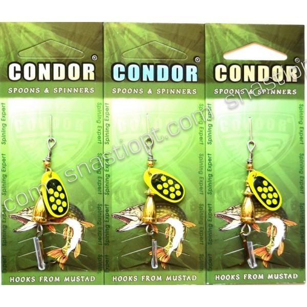 Вращающаяся блесна Condor, цвет 193, 4гр