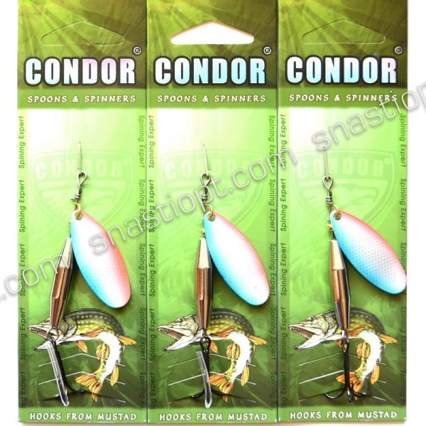 Блесна-вертушка Кондор, цвет 12, 12гр