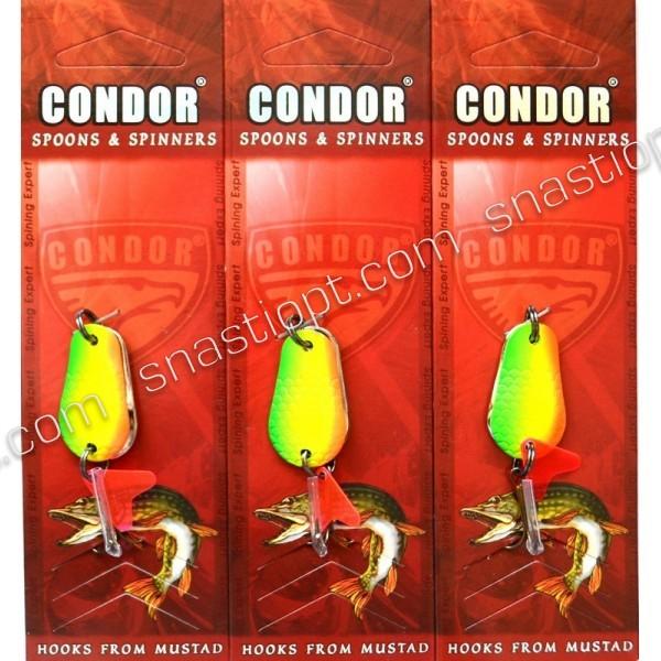 Блесна-колебалка двойная Кондор, цвет 18, 8гр