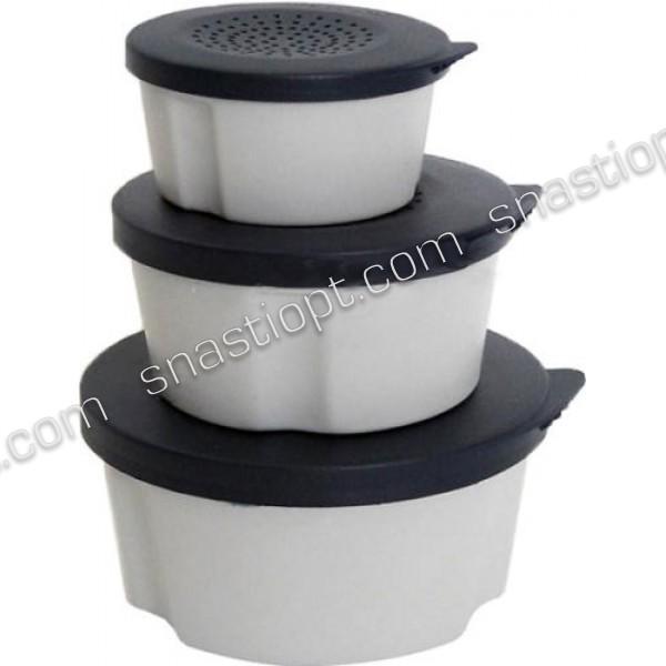 Набор коробок для червей AQUATECH-227911, 3шт
