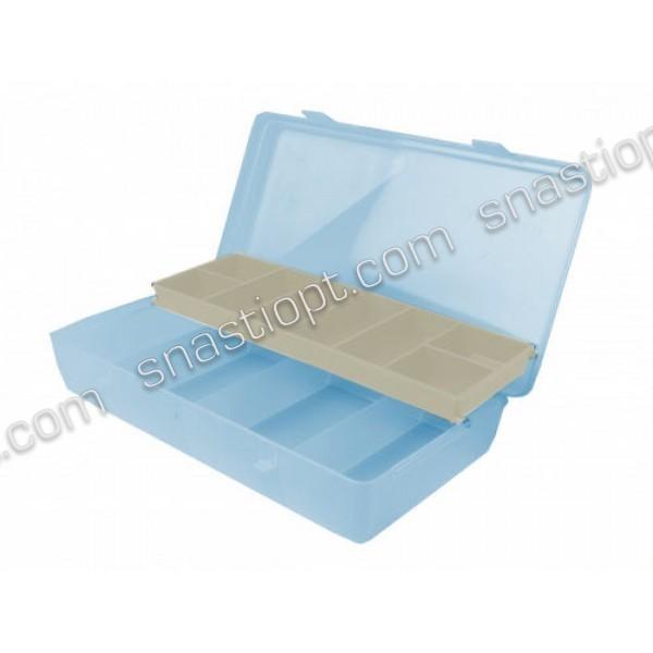 Коробка для рыболовных мелочей AQUATECH-7100 со скользящей полкой, 12 ячеек