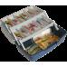 Ящик для рыболовных мелочей AQUATECH-1702Т, 2-полочный, прозрачный